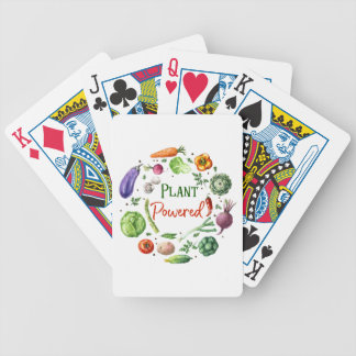 Plant-Powered Designs Bicycle Playing Cards