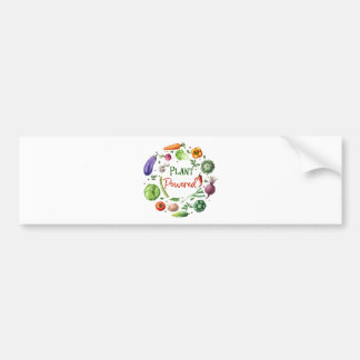 Plant-Powered Designs Bumper Sticker