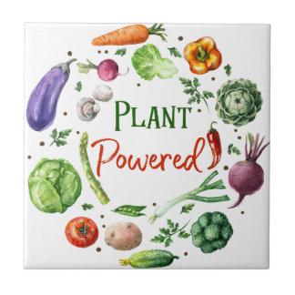Plant-Powered Designs Ceramic Tile