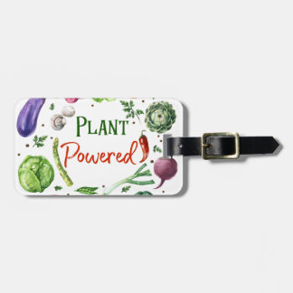Plant-Powered Designs Luggage Tag
