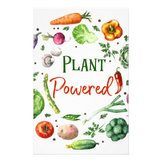 Plant-Powered Designs Stationery