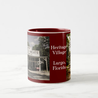 Plant-Sumner House Two-Tone Coffee Mug