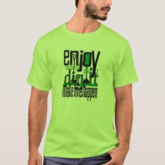 Plant Trees Make Life Happen Mens T-shirt Green