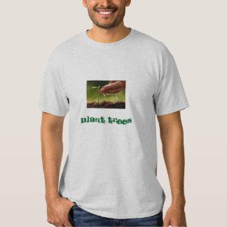 Plant trees shirts