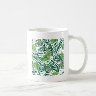 Plant Tropical Botanical Palm Leaf Coffee Mug