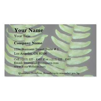 Plant Twin Peaks Business Cards
