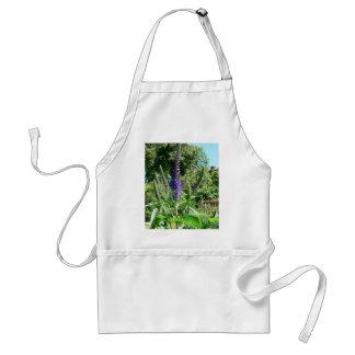 Plant With Purple Flowers Apron