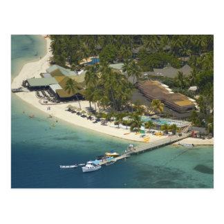 Plantation Island Resort, Malolo Lailai Island Postcard