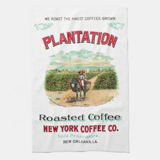 Plantation Roasted Coffee Tea Towel