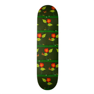 Plants and flowers 21.6 cm skateboard deck