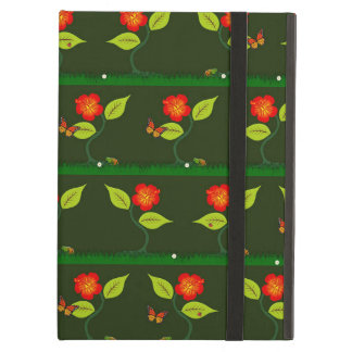 Plants and flowers cover for iPad air