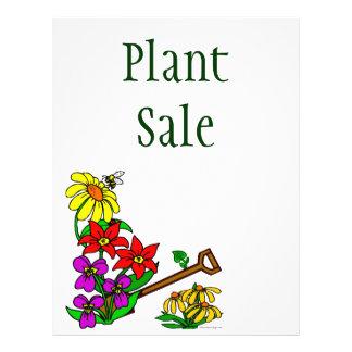 Plants and Flowers Custom Flyer
