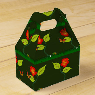 Plants and flowers favour box