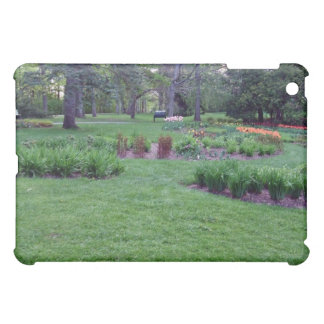 Plants and flowers in a beautiful park iPad mini covers