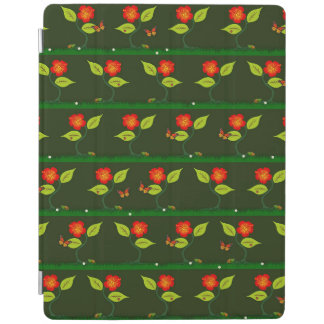 Plants and flowers iPad cover