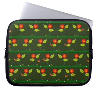 Plants and flowers laptop sleeve