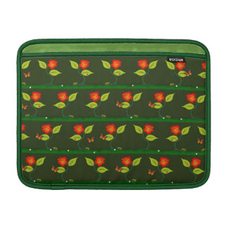 Plants and flowers MacBook sleeve