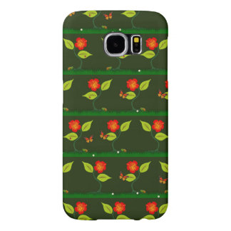Plants and flowers samsung galaxy s6 cases