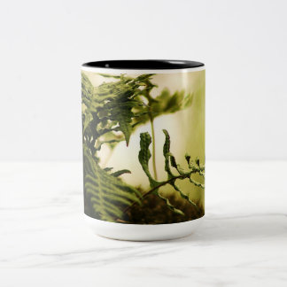 Plants and Water Scenery Two-Tone Coffee Mug