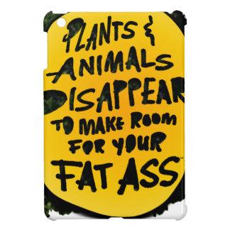 PLANTS & ANIMALS DISAPPEAR ...(YaWNMoWe®) Case For The iPad Mini