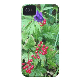 Plants at Pioneer Falls Butte Alaska iPhone 4 Case