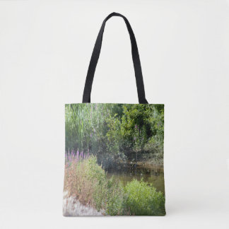 Plants by the River Tote Bag