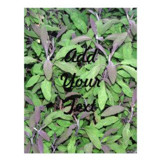 Plants Dark Red and Green Flyer Design