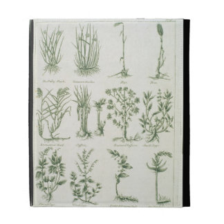 Plants from Culpeper's 'English Physician and Comp iPad Folio Case