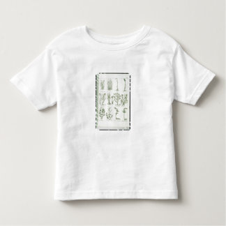 Plants from Culpeper's 'English Physician and Comp Toddler T-Shirt