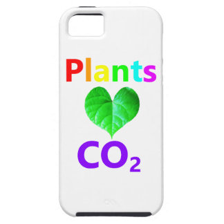 Plants Love CO2 iPhone 5 Covers
