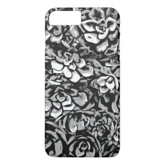 Plants of Black And White iPhone 8 Plus/7 Plus Case