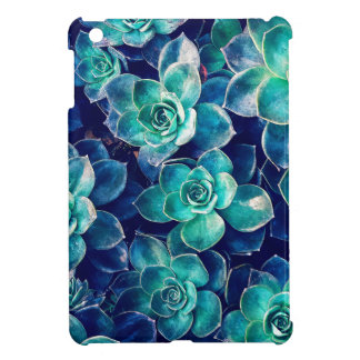 Plants of Blue And Green iPad Mini Cover