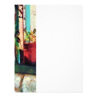 Plants on Porch Flyer Design