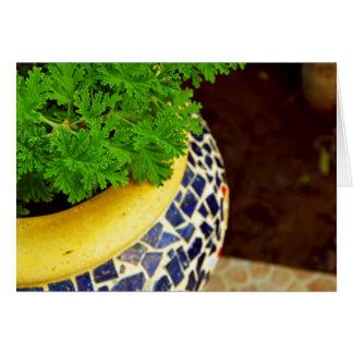 Plants Pot Greeting Card