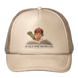 Plaque Pixie Books Baseball Cap