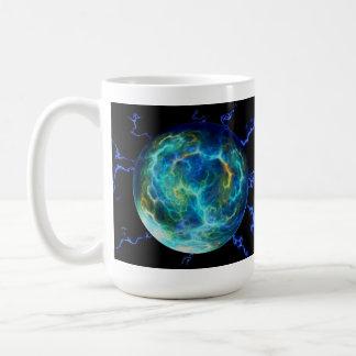 Plasma Electric Basic White Mug