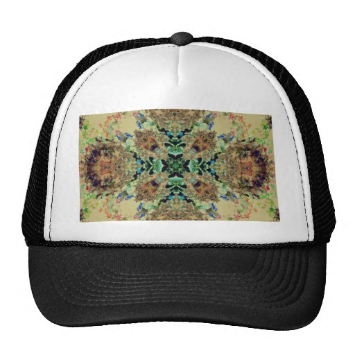 Plasma Fractal 41 Mesh Hats