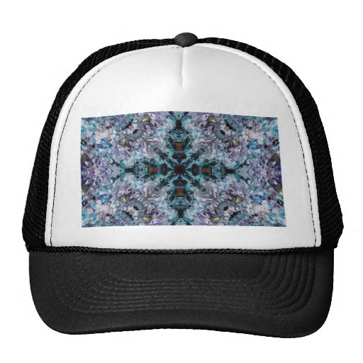 Plasma Fractal 52 Trucker Hats