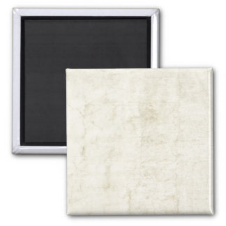 Plaster Antique Paper Template Blank neutral Square Magnet