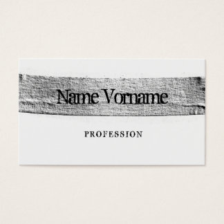 Plaster Business Card