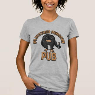 Plastered Penguin Pub Shirt