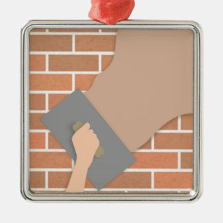 Plastering wall metal ornament