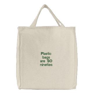 """""""Plastic Bags are SO Nineties!"""" Tote"""