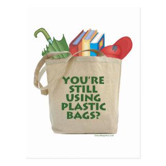 Plastic Bags Post Card