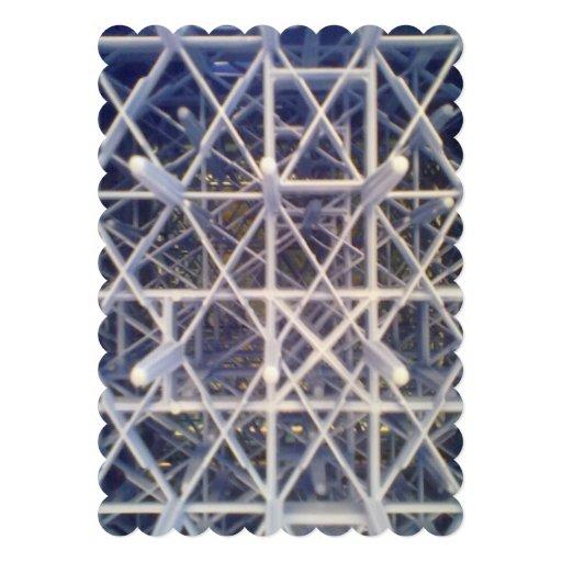 plastic basket personalized invitation