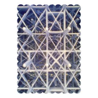 plastic basket 13 cm x 18 cm invitation card