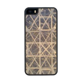 plastic basket wood iPhone SE/5/5s case