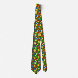 plastic blocks mens necktie neck tie