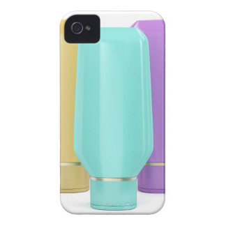 Plastic bottles for cosmetic products iPhone 4 case