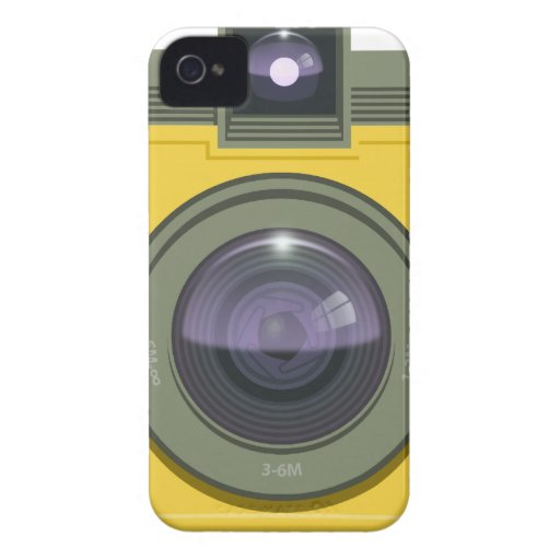 Plastic Camera Blackberry Case iPhone 4 Case-Mate Case